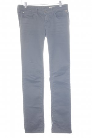 Replay pantalón de cintura baja gris look casual