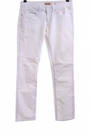 Replay Low Rise jeans wit casual uitstraling