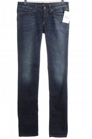 Replay Low Rise jeans blauw Jeans-look