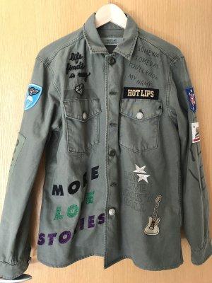 Replay Military Jacket khaki