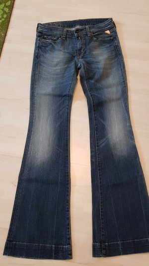 Replay Jeans flare bleu