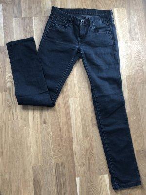 Replay Jeans 26/32 schwarz