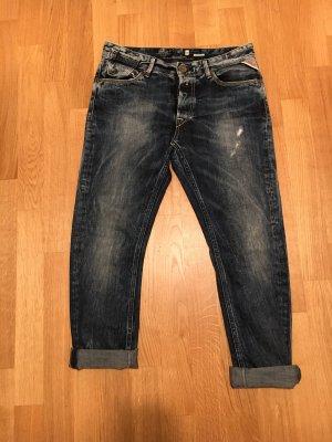Replay Boyfriend Jeans dark blue