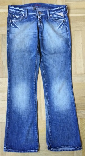 #Replay Jeans #Destroyed #Low Rise # Boot-Cut