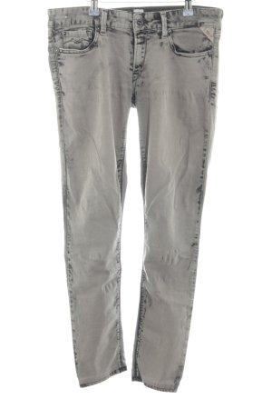 Replay Jeans grigio chiaro stile da moda di strada