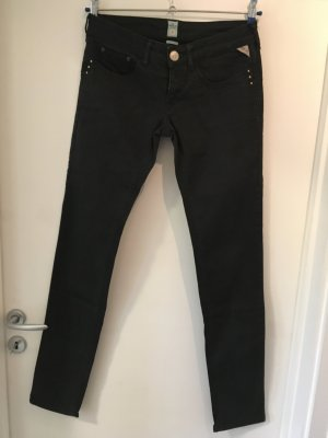 Replay Jeans , Gr. 28/34, schwarz
