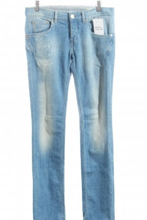 Replay Jeans hellblau Farbtupfermuster Casual-Look