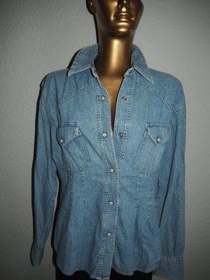 Replay Denim Shirt azure
