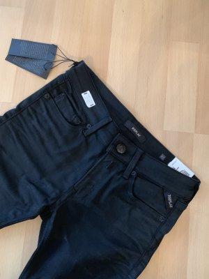 Replay Jeans Hose neu mit Etikett Gr 27 schwarz