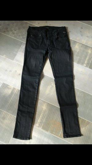 Replay Jeans Hose schwarz Gr. 28 / 30