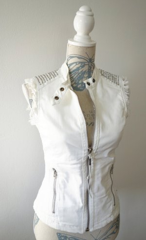 Replay Denim Vest white