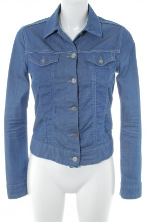 Replay Jeansbluse blau Jeans-Optik