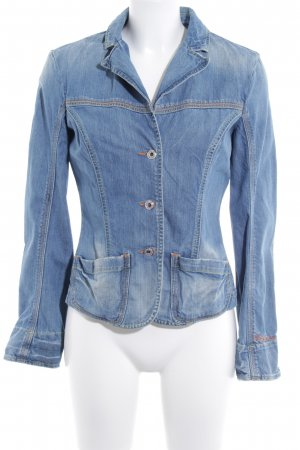 Replay Jeansjacke himmelblau Casual-Look