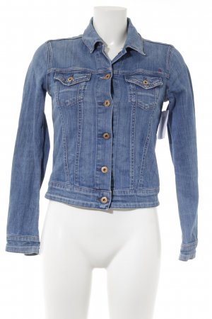 Replay Jeansjacke kornblumenblau Casual-Look