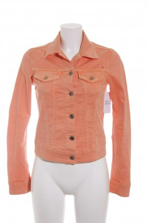 Replay Jeansjacke neonorange Casual-Look