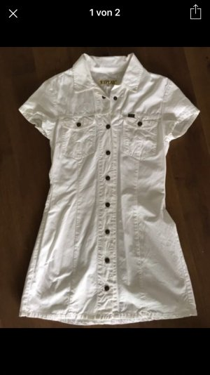Replay Jeanskleid Weiss Gr. M/L