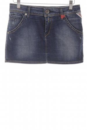Replay Jeansrock blau Casual-Look