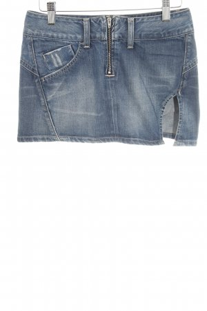 Replay Gonna di jeans blu stile semplice