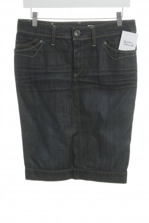Replay Jeansrock dunkelblau Jeans-Optik