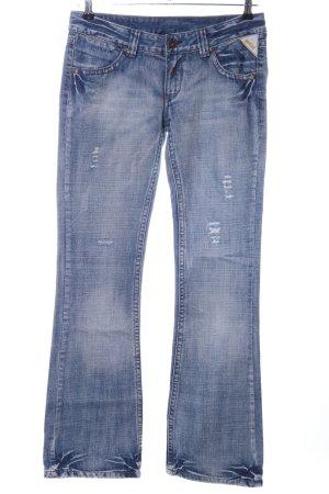 Replay Jeans a zampa d'elefante blu stile casual