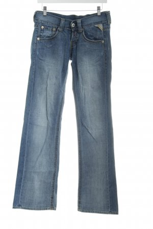 Replay Denim Flares cornflower blue casual look