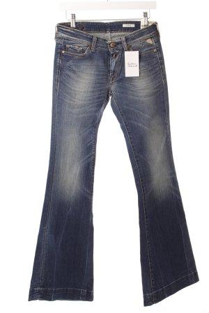 "Replay Jeansschlaghose ""Teena"" dunkelblau"