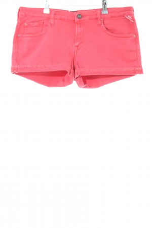 Replay Denim Shorts pink casual look