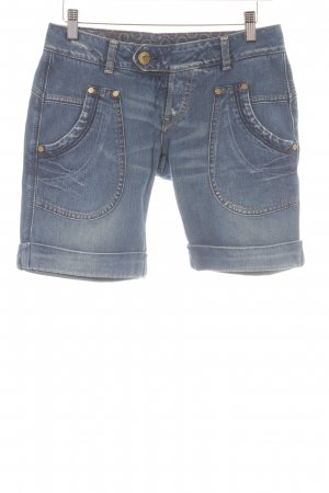 Replay Jeansshorts graublau Casual-Look