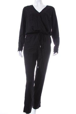Replay Jumpsuit schwarz schlichter Stil