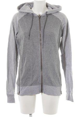 Replay Veste à capuche gris-gris clair style boyfriend