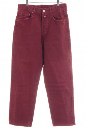 Replay Carrot Jeans dark red casual look