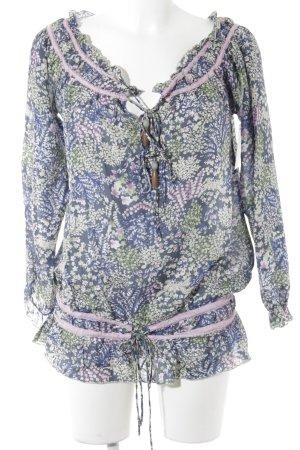 Replay Kimono blouse bloemenprint casual uitstraling