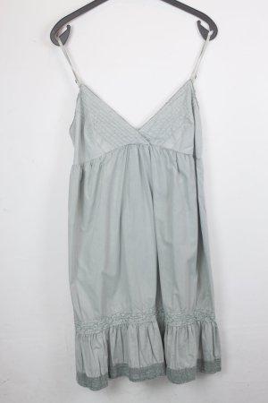 Replay Kleid Trägerkleid Gr. L hellgrün (18/4/437)