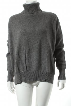 Replay Knitwear Strickpullover grau Kuschel-Optik