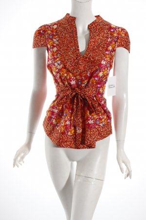 Replay Kurzarm-Bluse florales Muster Beach-Look