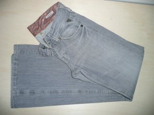 Replay lässige Boot Cut Jeans Hose Pants Modell Janice WV 580 Grau Gr 36