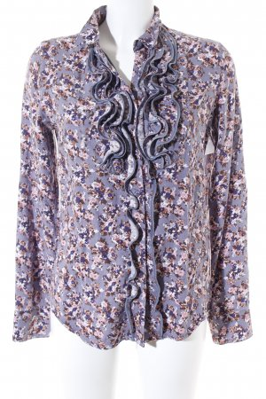 Replay Langarm-Bluse florales Muster Casual-Look