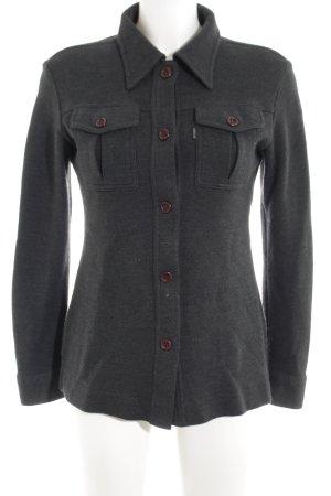 Replay Camicia a maniche lunghe grigio chiaro stile casual