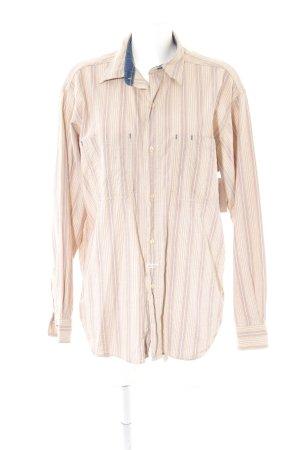 Replay Langarmhemd Streifenmuster klassischer Stil