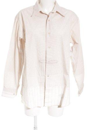 Replay Chemise à manches longues blanc cassé-rouge carmin motif à carreaux