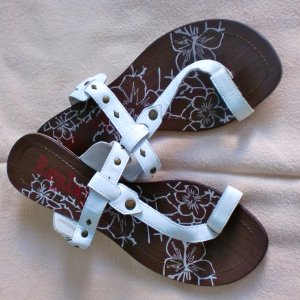 REPLAY Leder Sandalen, Gr. 37