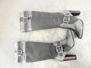 Replay Leder Textil Stiefel Gr. 36 NP 289€