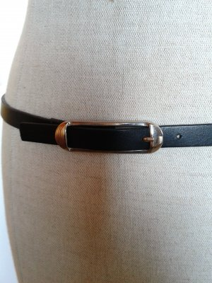 Replay Ledergürtel, kräftiges Leder schwarz