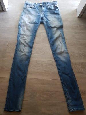 Replay Jeans skinny azzurro