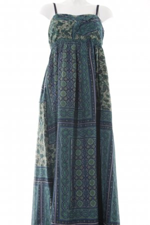 Replay Maxikleid abstraktes Muster Boho-Look
