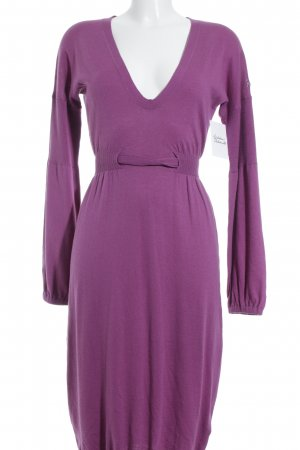 Replay Midikleid violett Romantik-Look