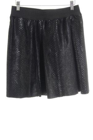 Replay Mini-jupe noir motif animal style mode des rues
