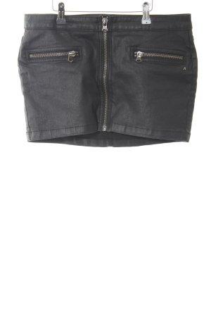 Replay Mini-jupe noir style festif