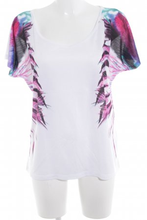Replay Camisa holgada estampado con diseño abstracto look casual