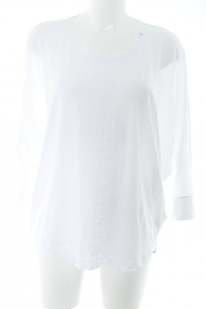 Replay Oversized Shirt white casual look